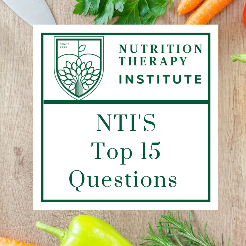 NTI's Top 15 Questions