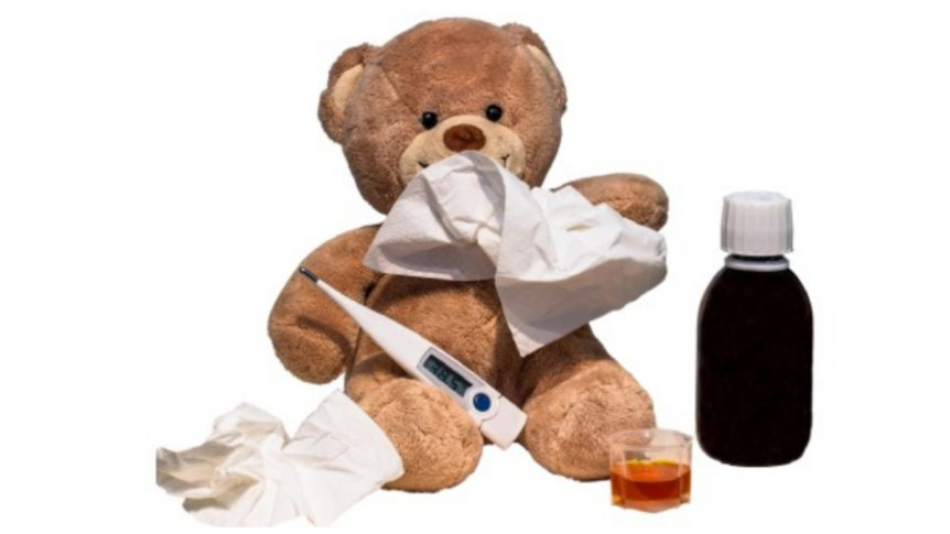 Holistic Nutrition Bear Sick with the Flu