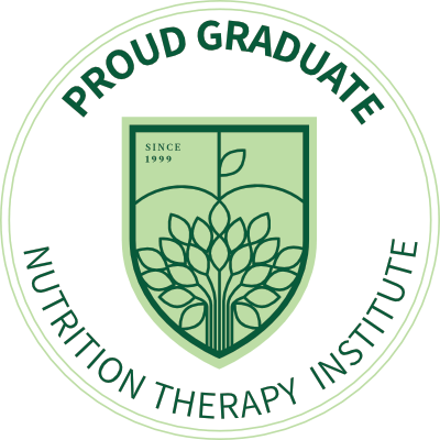 Proud Graduate of Nutrition Therapy Institute