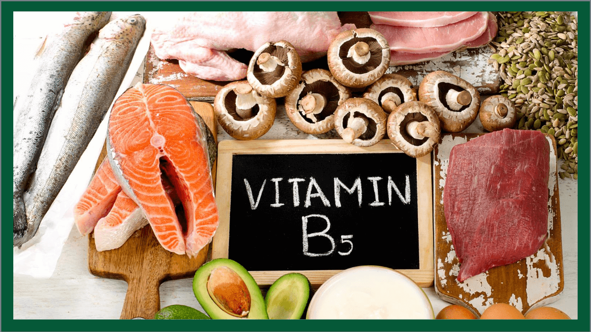 Vitamin B5, Pantothenic Acid, Nutriiton Therapy Institute